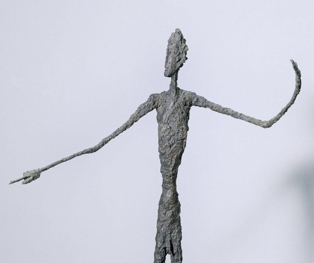Man Pointing, Alberto Giacometti, 1947 - Modern Tate Londres
