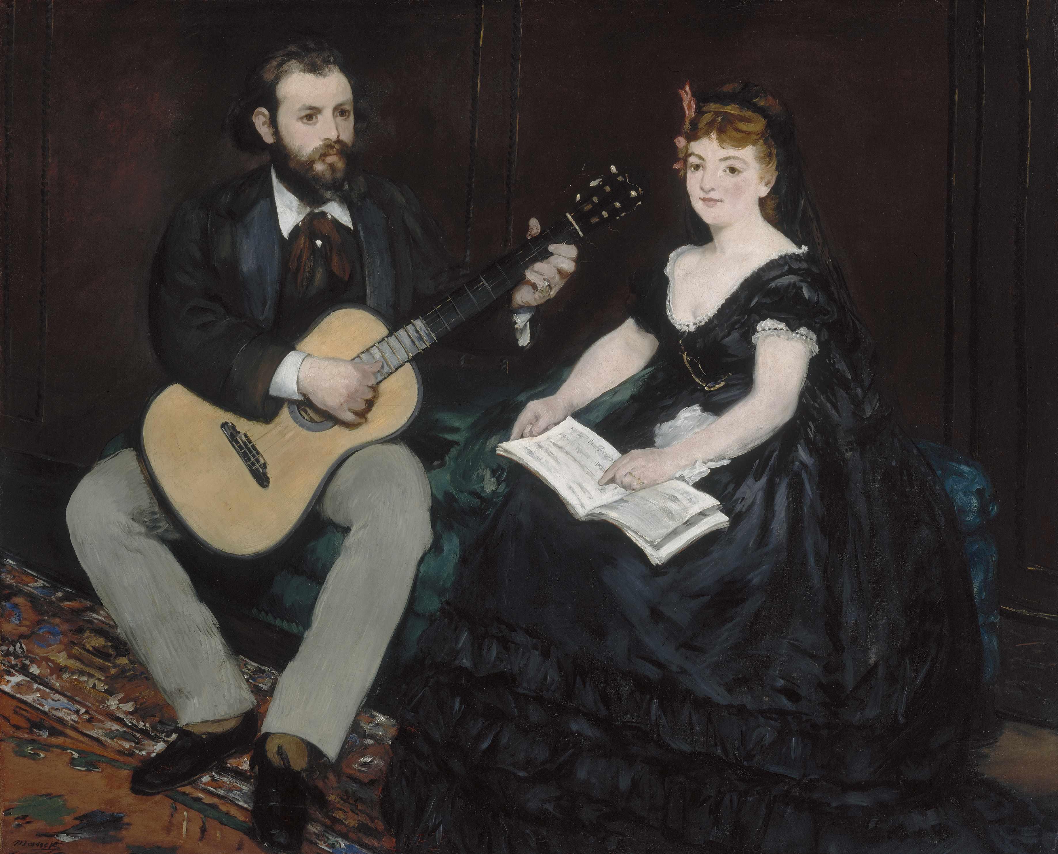 Картинки по запросу representation de la musique dans l art