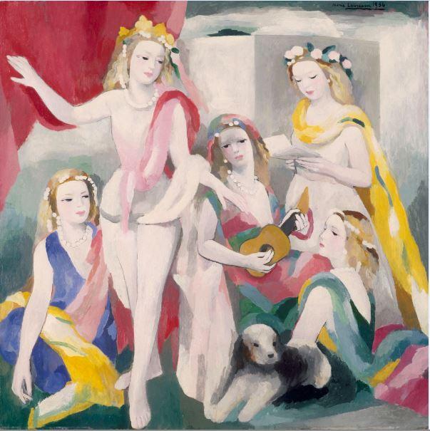 Marie Laurencin La Repetition - 21 rue de la Boetie au Musee Maillol