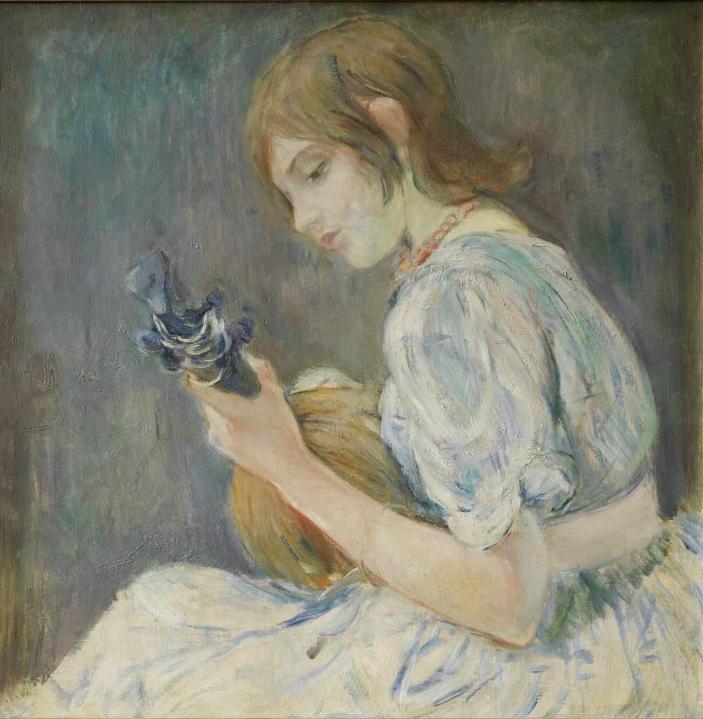 MORISOT Mandoline - Tintamarre! Instruments de musique dans l'art 1860-1910 - Musee des impressionnistes Giverny