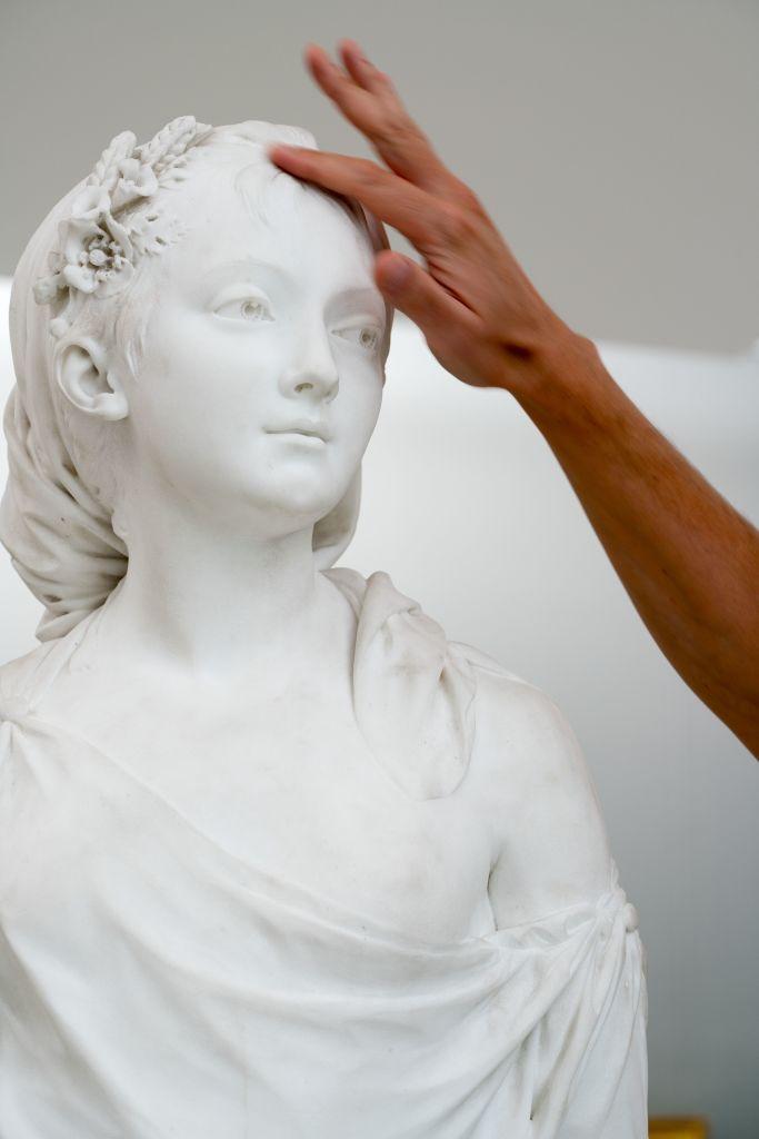 Galerie Tactile - L'art et la matiere - Musee Fabre de Montpellier