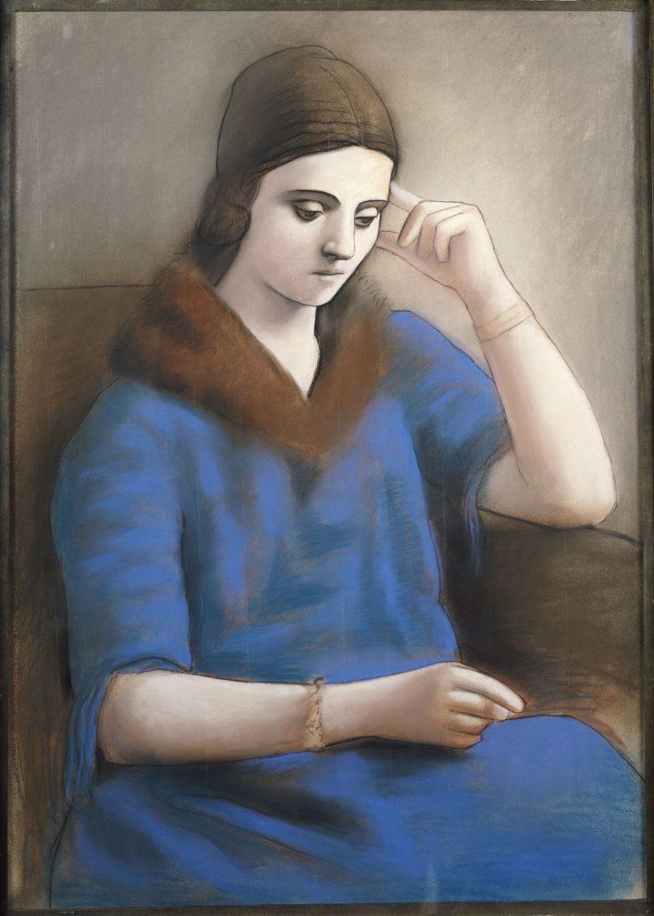 Olga pensive