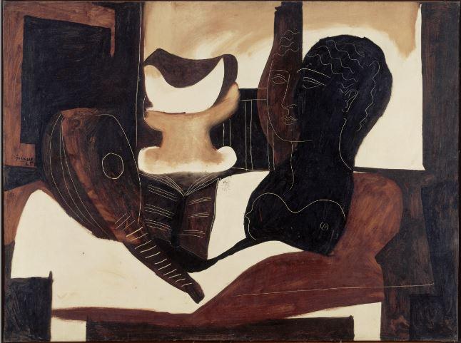 Pablo Picasso NAture Morte a la tete antique - 21 rue de la Boetie au Musee Maillol