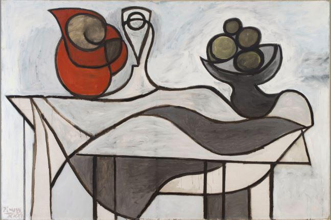 Pablo Picasso, Pichet et coupe de fruits 1931 - 21 rue de la Boetie au Musee Maillol