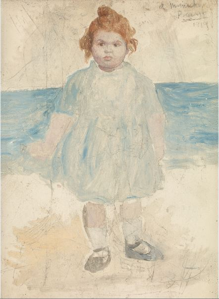 Pablo Picasso - Portrait de Mlle Rosenberg 1919 Anne Sinclair - 21 rue de la Boetie au Musee Maillol