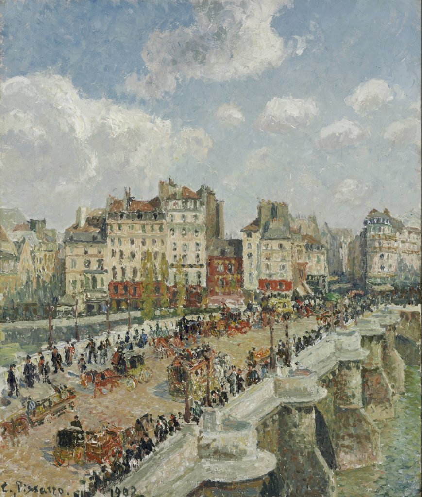 The Pont-Neuf, Camille Pissarro, 1902 - Masterpieces from Budapest. From the Renaissance to the Avant-Garde au Musee Thyssen- Bornemisza – Madrid