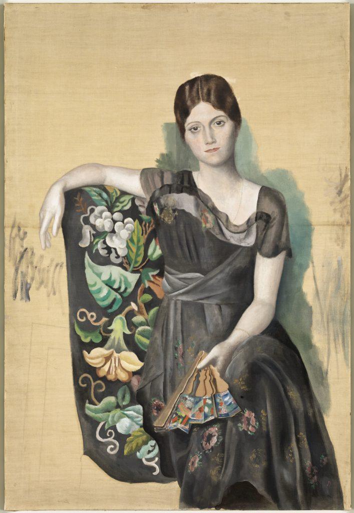 Portrait d'Olga dans un fauteuil, Pablo Picasso, 1918 - Olga Picasso Musee Picasso - ©Succession Picasso