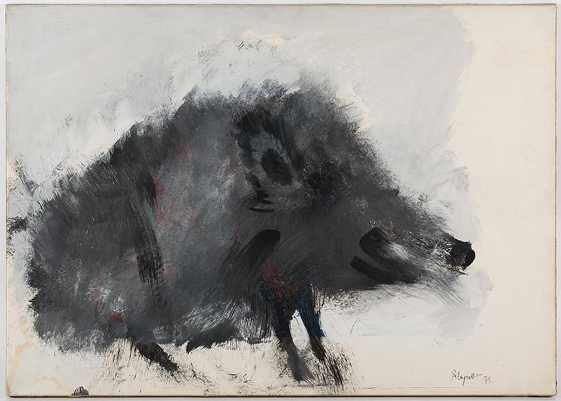 Sanglier - Les animaux de Paul Rebeyrolle - Musee Estrine - Saint-Remy-de-Provence