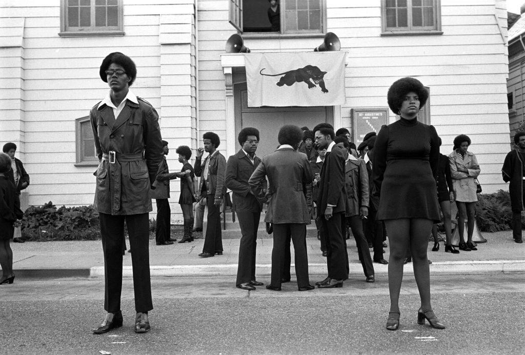 Oakland California, George Jackson funeral - Stephen Shames - Musee Nicephore-Niepce