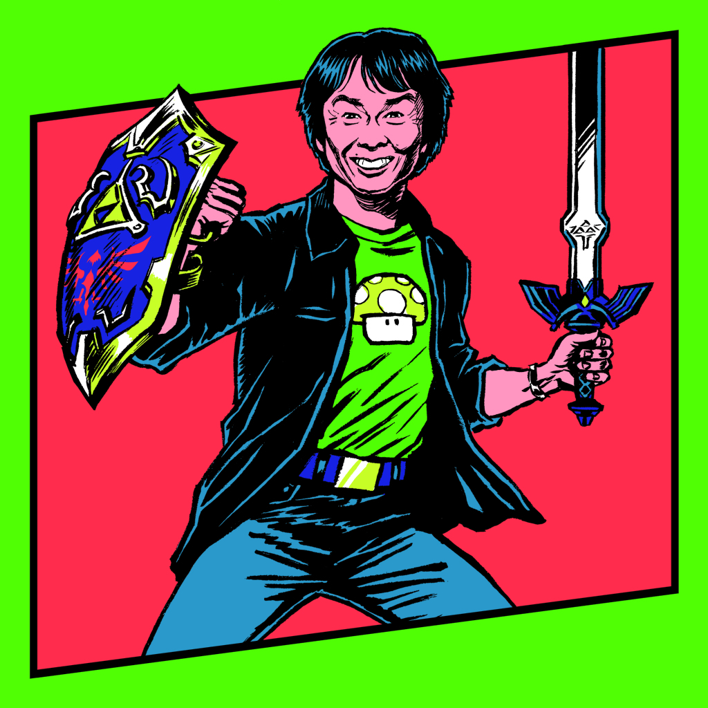 Shigeru MIYAMOTO, GAME, le jeu vidéo à travers le temps, Espace Fondation EDF