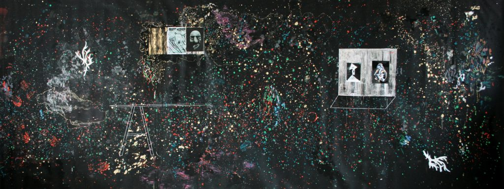 « Photocopie de Picasso sur faux bois », Helene Delprat, 2015 - I did it my way a la Maison Rouge