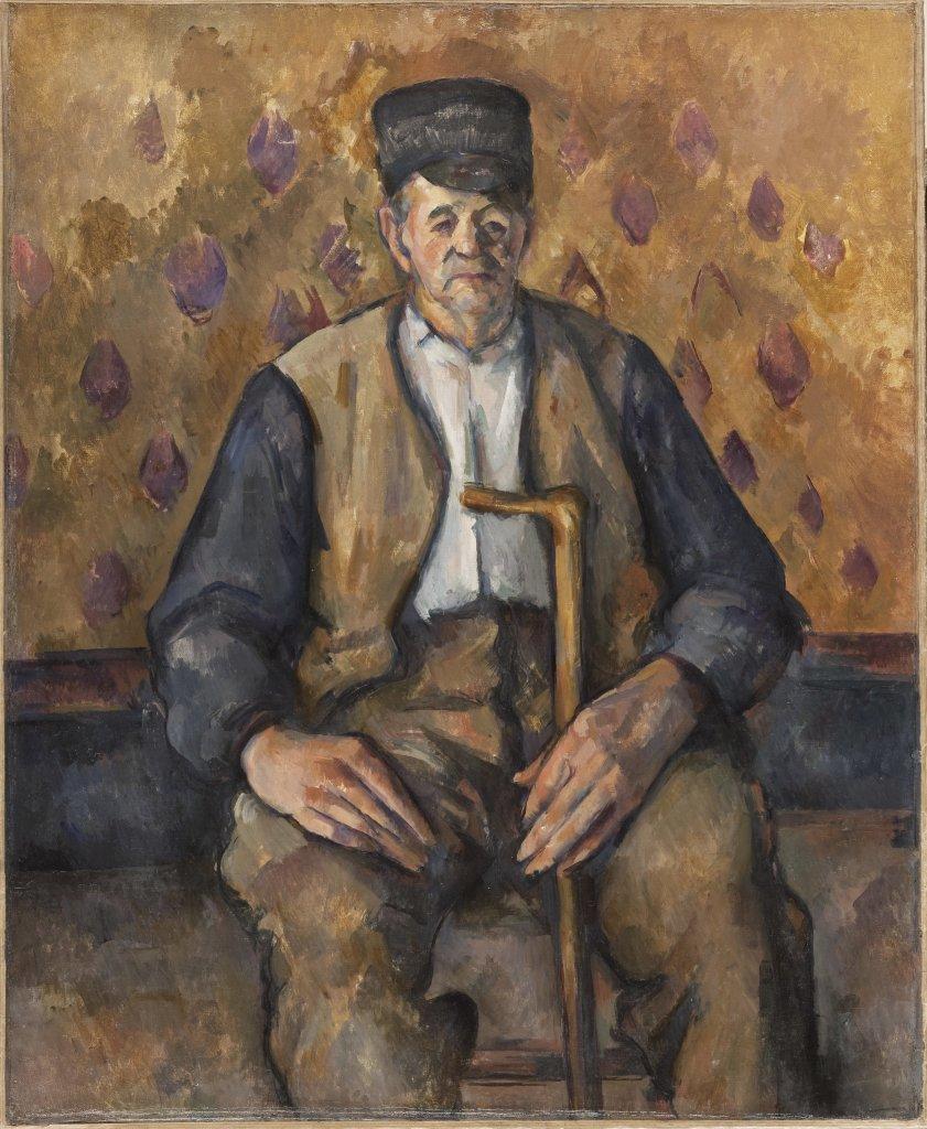 Paysan assis, Portraits de Cézanne, Musée d'Orsay