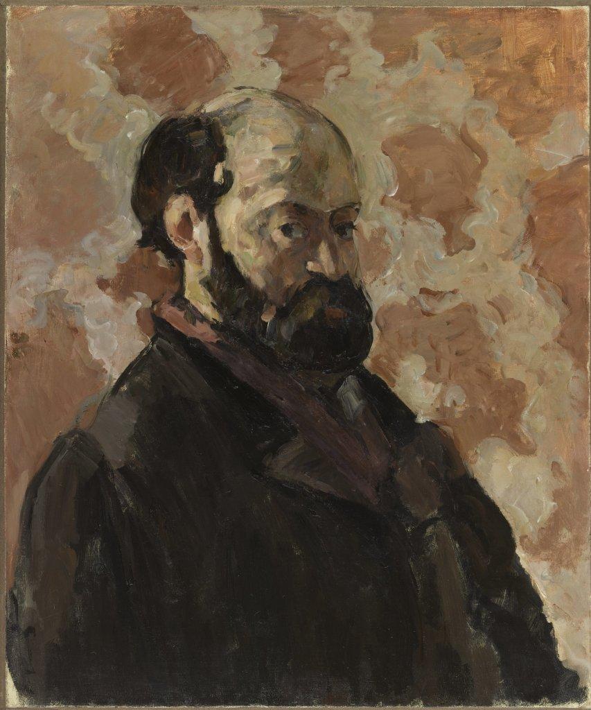 Cezanne Fond rose, Portraits de Cézanne, Musée d'Orsay