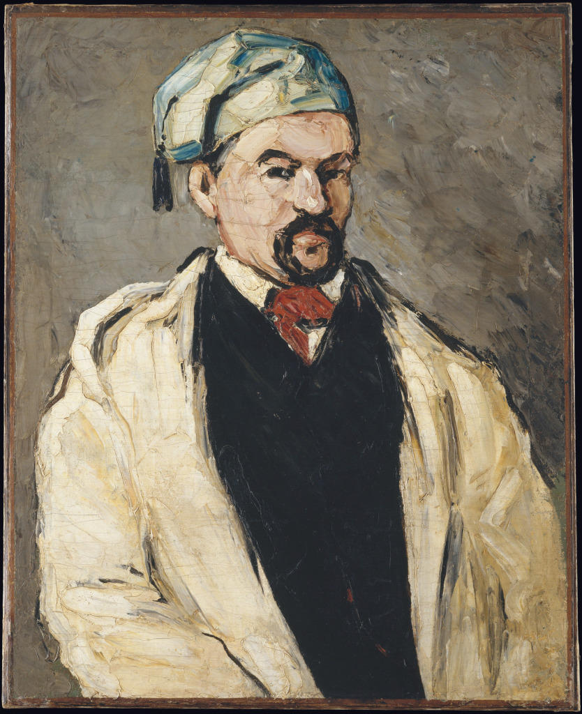 L'Homme au bonnet de coton (L'oncle Dominique), Portraits de Cézanne, Musée d'Orsay