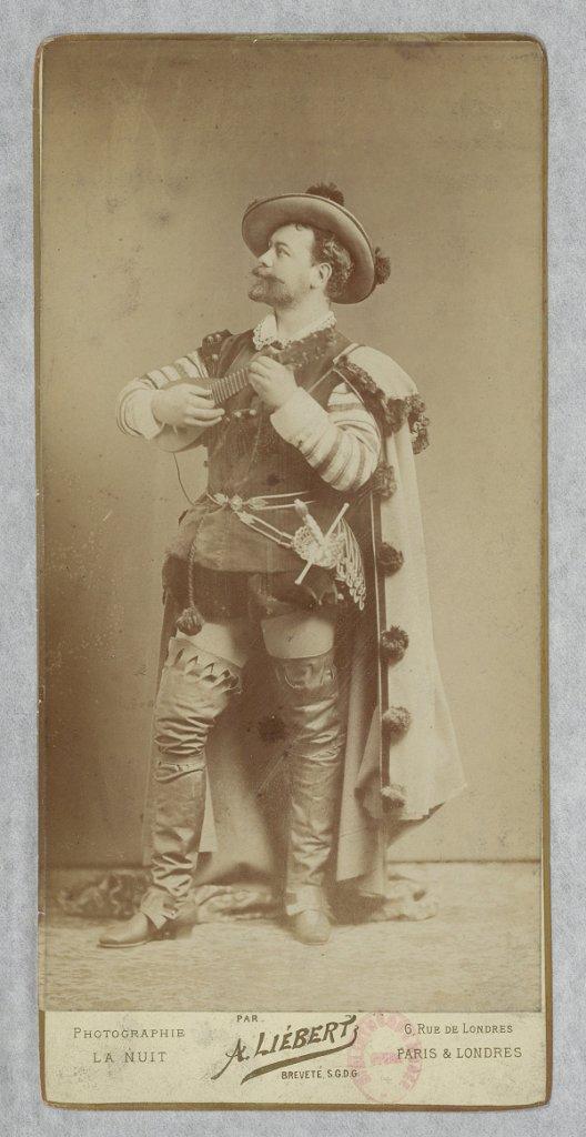 Victor Maurel dans le rôle de Don Juan, en 1896 (Opéra-Comique).