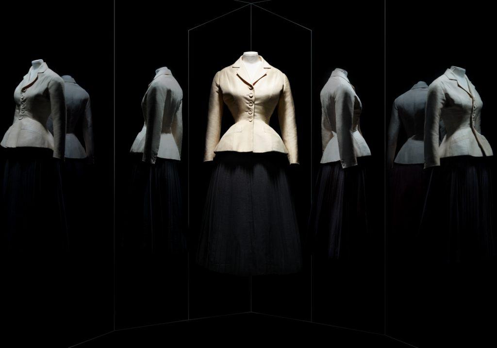 Christian Dior, tailleur Bar, haute couture printemps-été 1947