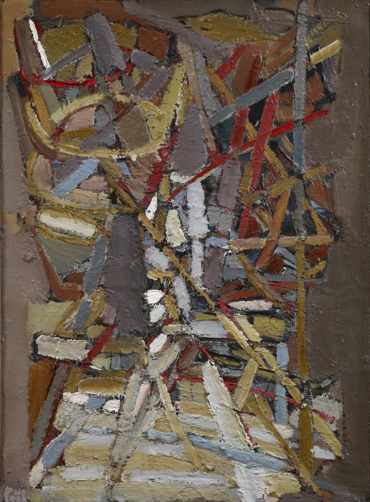 Un conte, Nicolas de Stael, 1948 - De Zurbaran a Rothko, collection Alicia Koplowitz, Grupo Omega - Musee Jacquemart Andre