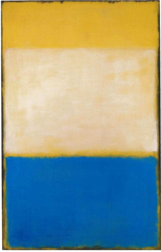 N°6 - Mark Rothko, 1954 - De Zurbaran a Rothko, collection Alicia Koplowitz, Grupo Omega - Musee Jacquemart Andre