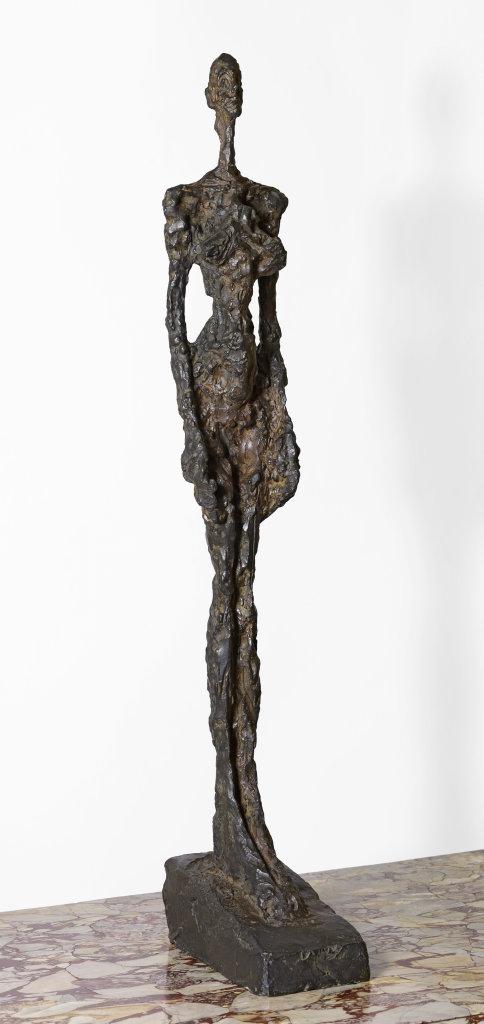 Femme de Venise - Alberto Giacometti, 1956 - De Zurbaran a Rothko, collection Alicia Koplowitz, Grupo Omega - Musee Jacquemart Andre