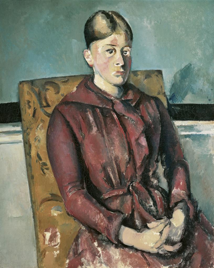 Madame Cézanne au fauteuil jaune, Portraits de Cézanne, Musée d'Orsay