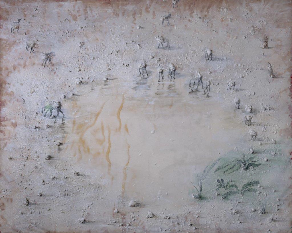 Kula Be Ba Kan - Miquel Barcelo, 1991 - De Zurbaran a Rothko, collection Alicia Koplowitz, Grupo Omega - Musee Jacquemart Andre
