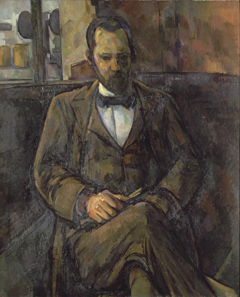 Ambroise Vollard, Portraits de Cézanne, Musée d'Orsay