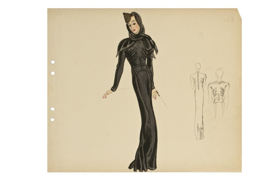 Robe Squelette, Elsa Schiaparelli, 1937 - Travaux de dames au Musee des Arts Decoratifs de Paris