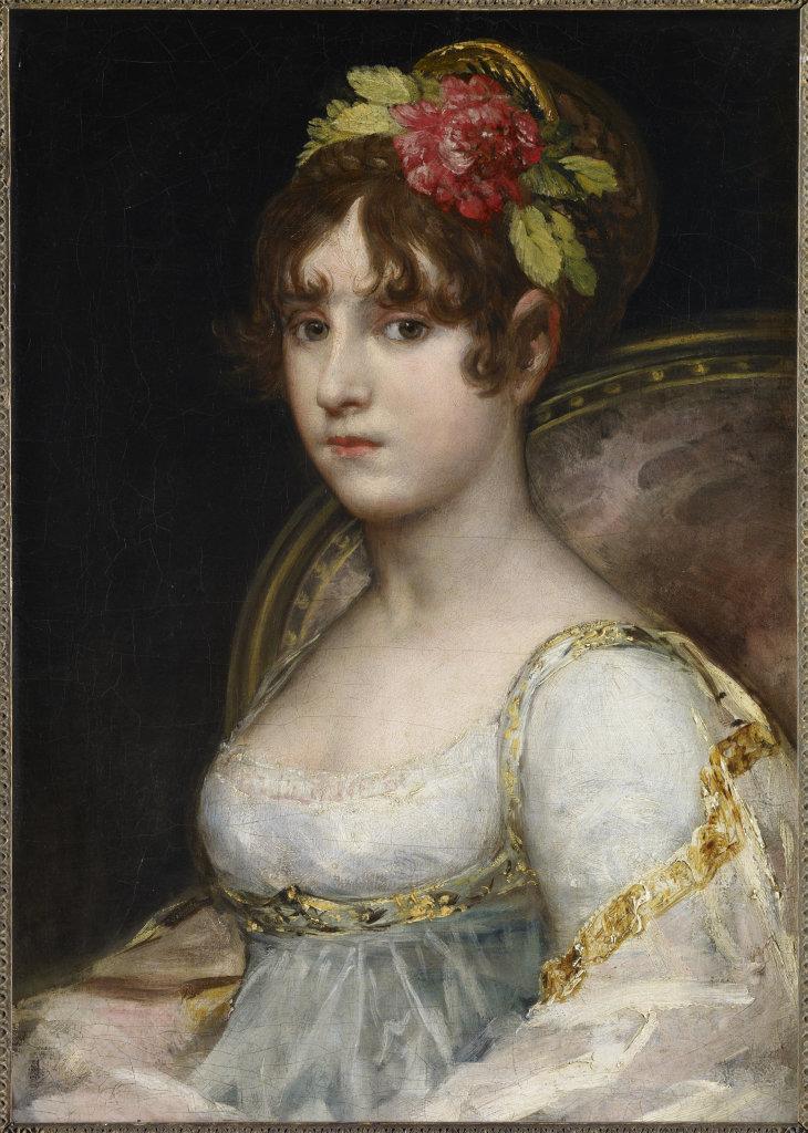 Portrait de la comtesse de Haro, Francisco de Goya y Lucientes, vers 1802 - De Zurbaran a Rothko, collection Alicia Koplowitz, Grupo Omega - Musee Jacquemart Andre