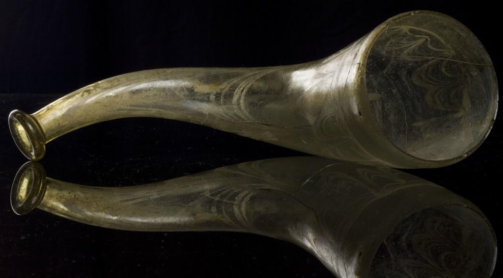 Corne à boire, Austrasie, Musée d'Archéologie Nationale