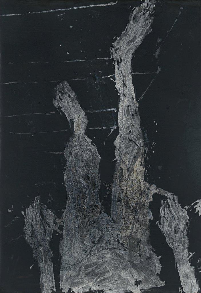 Absatz fur absatz, Georg Baselitz - Descente a la Galerie Thaddaeus Ropac de Pantin