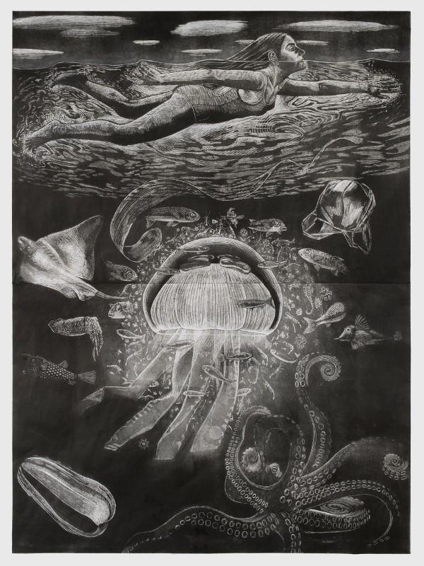 Un monde en profondeur, Agathe May, Palais de l'Institut de France