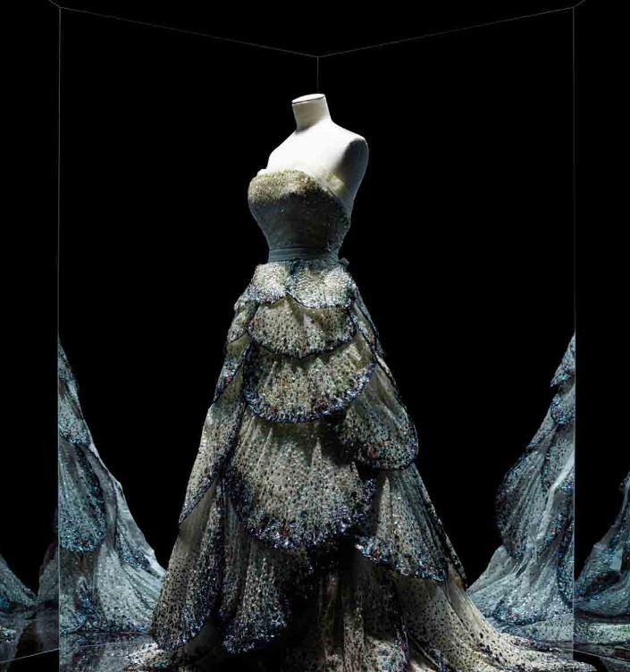 Christian Dior, Robe Junon, Musée des Arts décoratifs