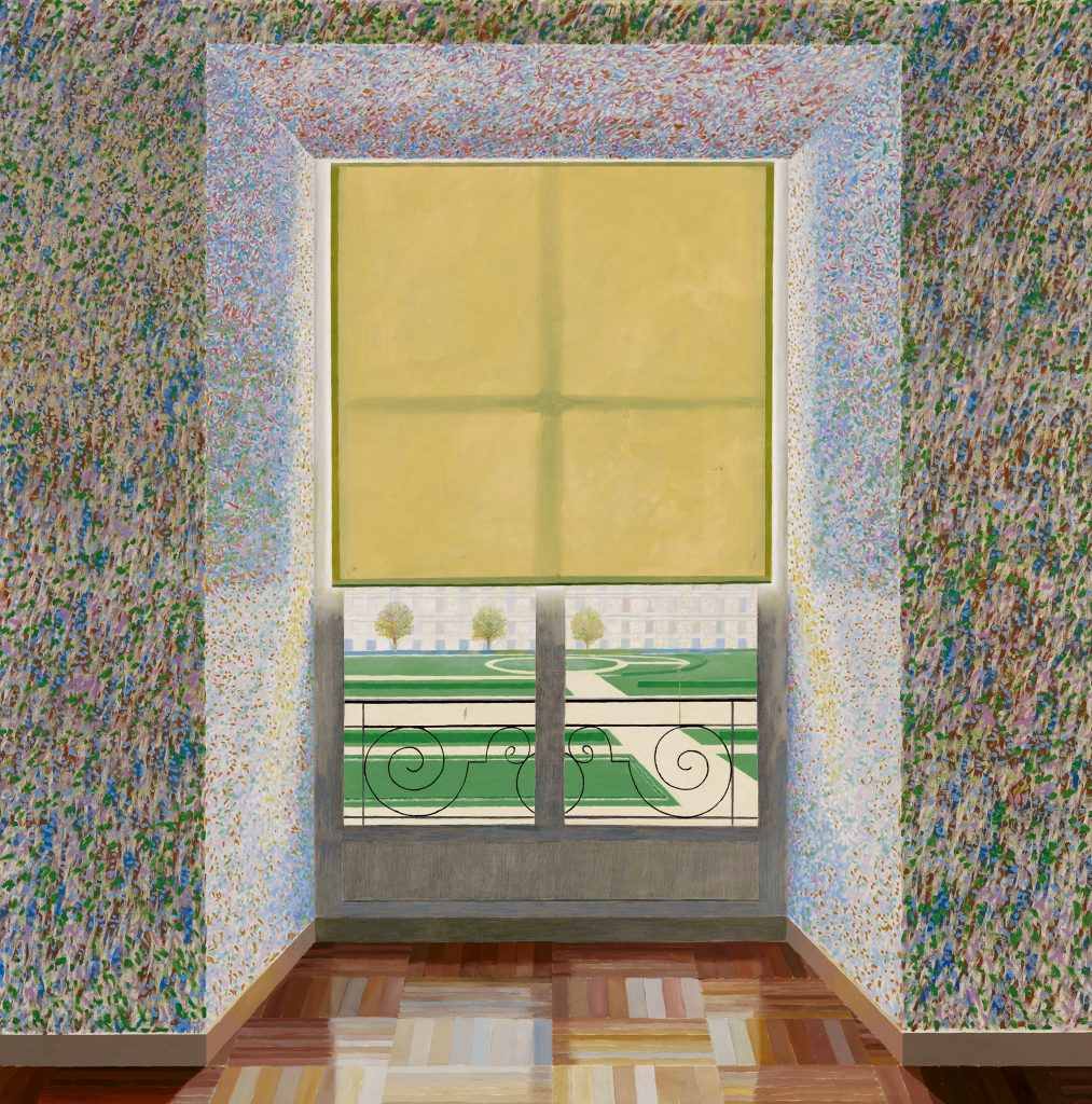 David Hockney, Contre Jour in the French Style 1974 Huile sur toile - Centre Pompidou