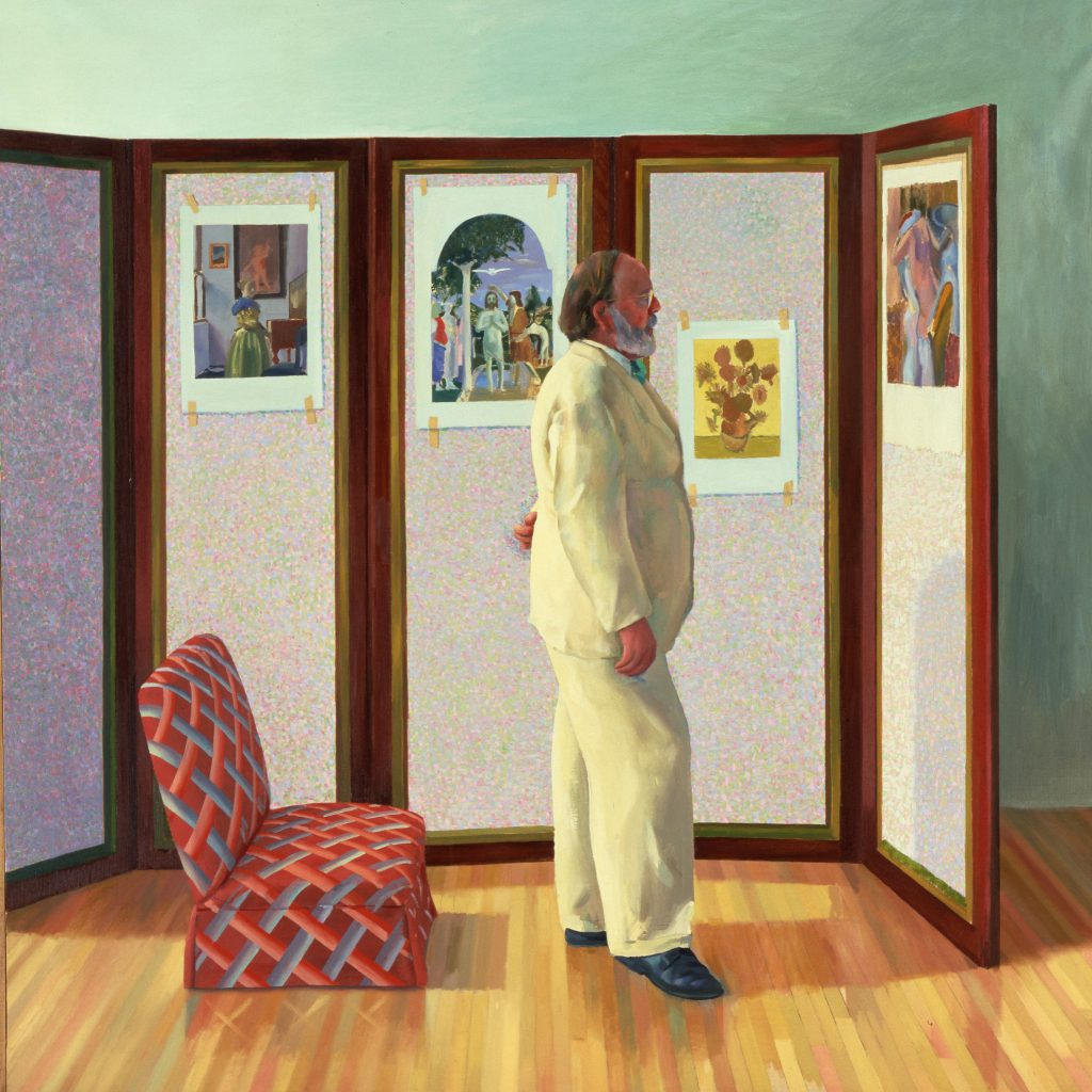 David Hockney, Looking at Pictures on a Screen 1977 - Centre Pompidou