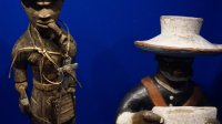 Vue de l'exposition nous et les autres- Musee de l'Homme