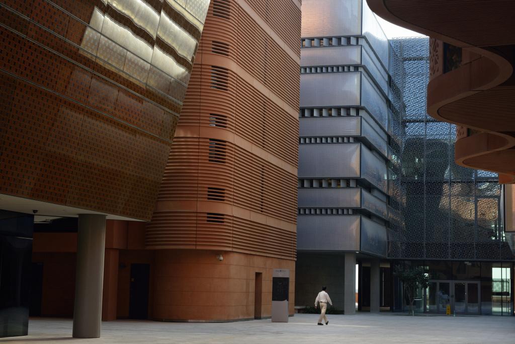 Cite de Masdar aux Emirats Arabes Unis, Laurent Weyl du collectif Argos - Exposition Empreinte au Pavillon de l'Eau