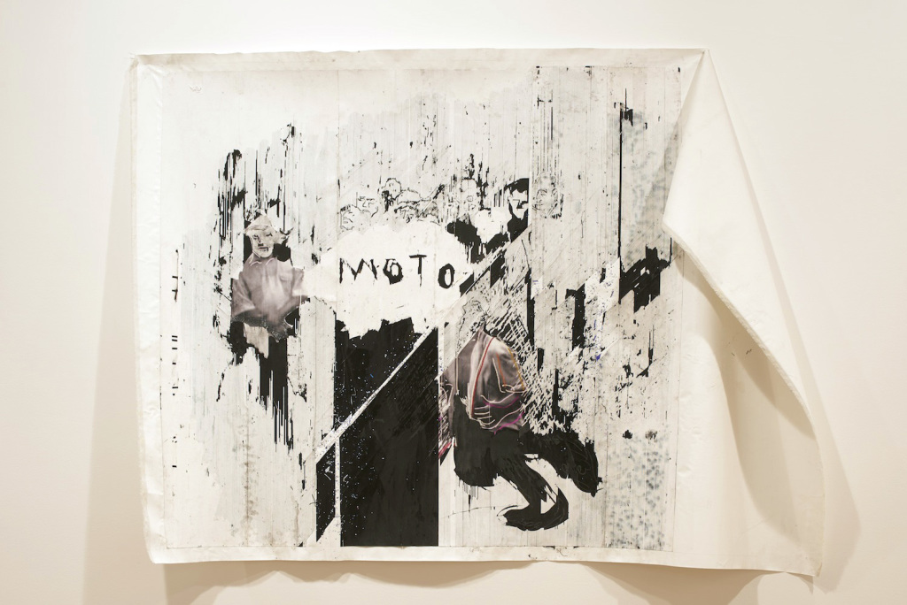 Gareth Nyandoro, Pfuuuuuuu (Blowing), 2015 - Palais de Tokyo