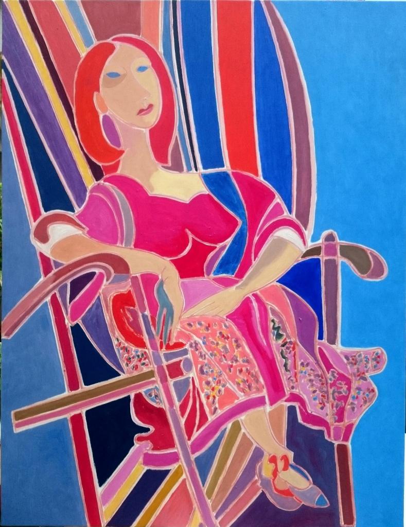 Henri Landier, La bayadère, 2014 - Henri Landier, Vive la vie ! à l'Atelier d'Art Lepic