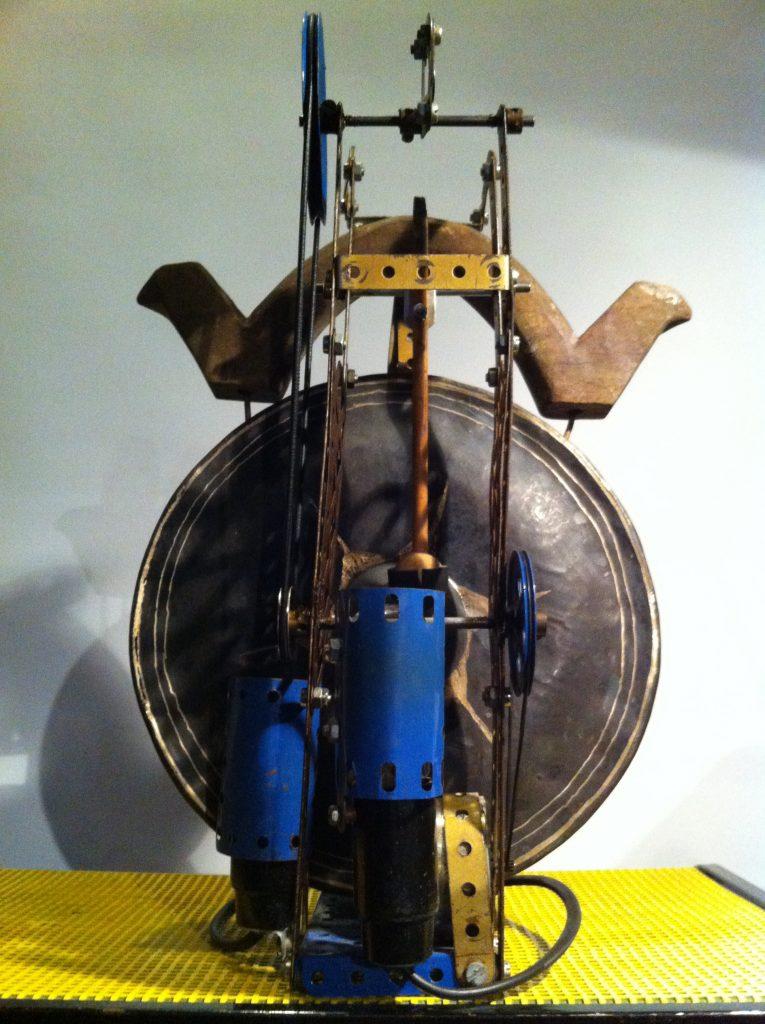 Mecanium Gong, Pierre Bastien - Exposition Musique a voir au LAAC Dunkerque