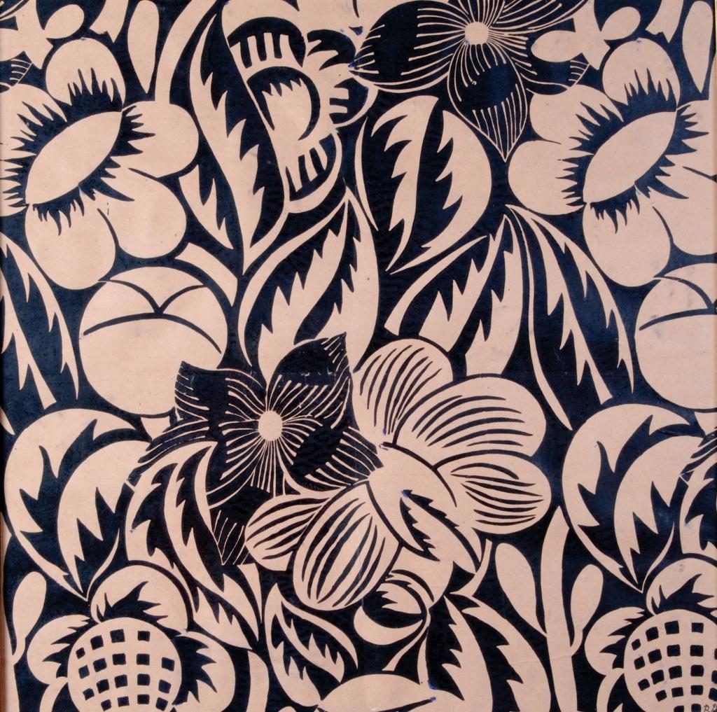 Raoul Dufy, Fleurs etoilees, vers 1911 - Exposition Les couleurs du Bonheur au Musee Jean Cocteau, Menton