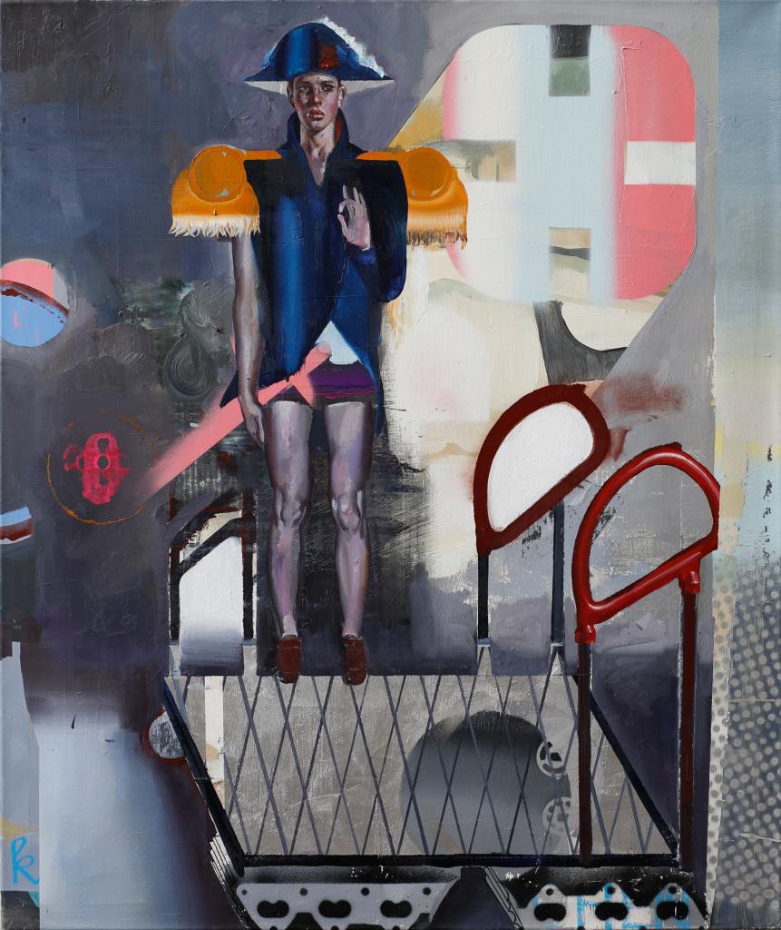 Kleiner General, Rayk Goetze, Galerie Charron