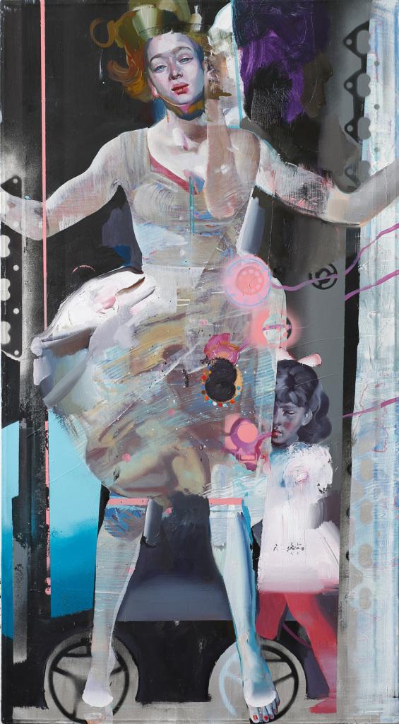 Traumfrau, Rayk Goetze, Galerie Charron