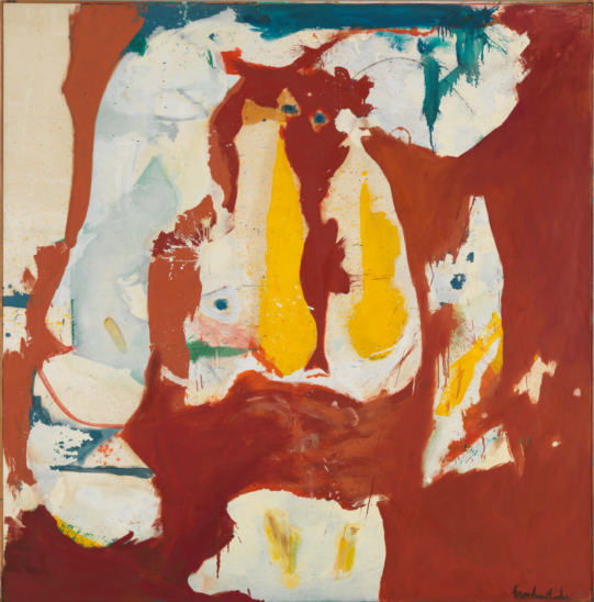 The Red Sea, Helen Frankenthaler, Gagosian Gallery