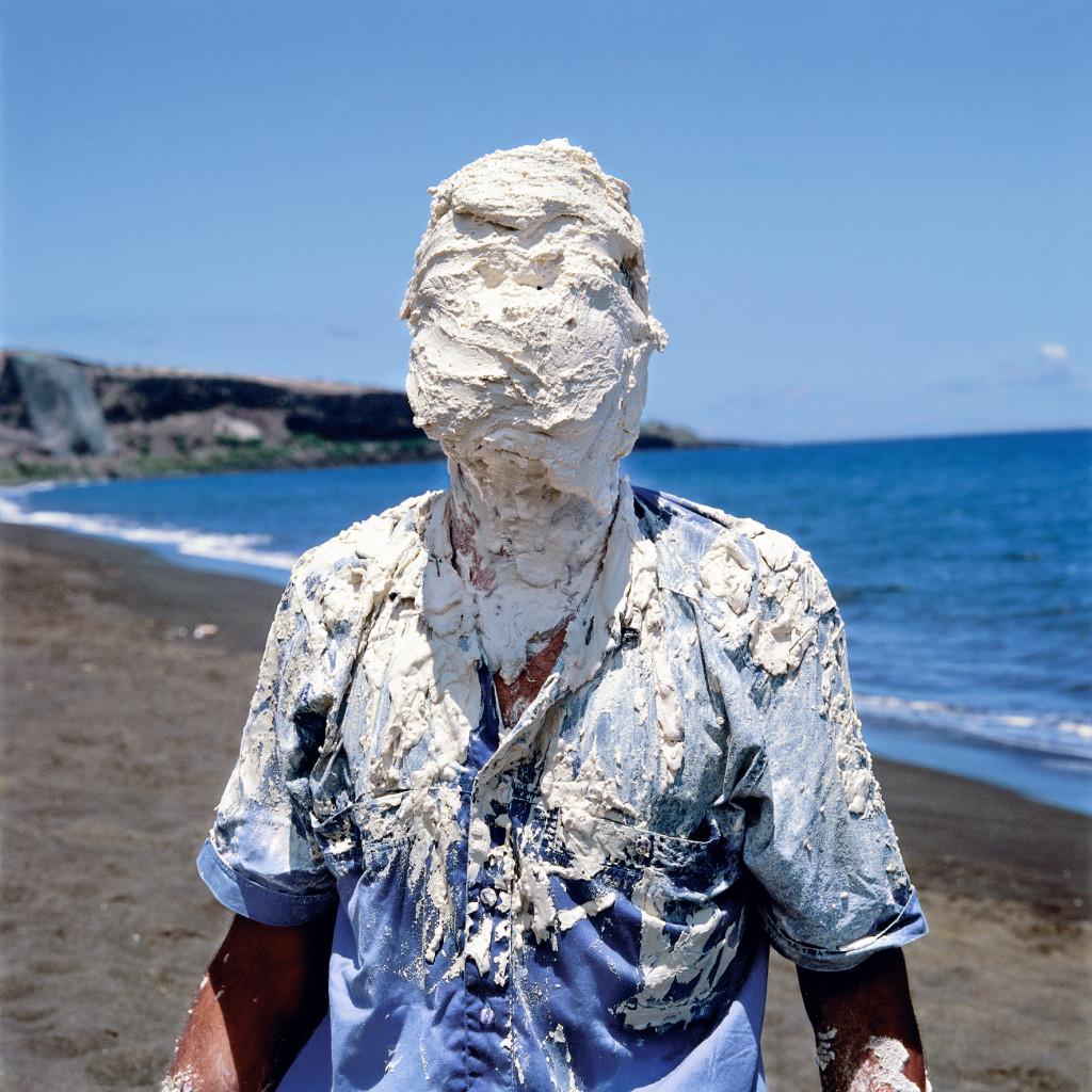 """Thierry Fontaine, """"Cri Blanc"""" (1998), Archipel, La Terrasse de Nanterre"""