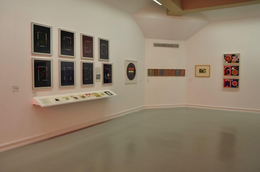Vue de l'exposition Musique a voir au LAAC Dunkerque