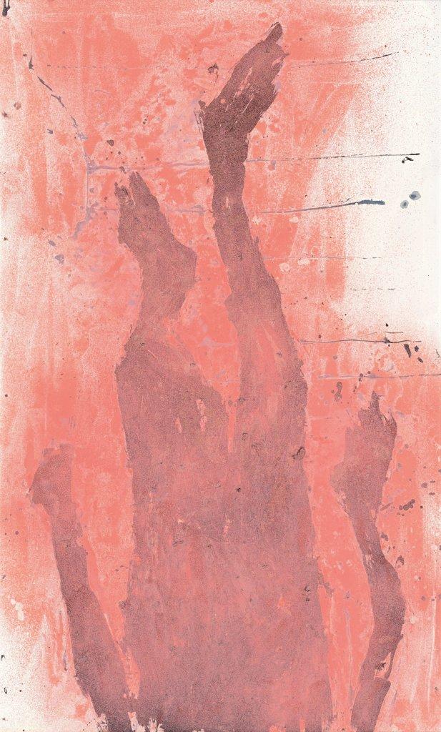 Wie weit noch runter, Georg Baselitz - Descente a la Galerie Thaddaeus Ropac de Pantin