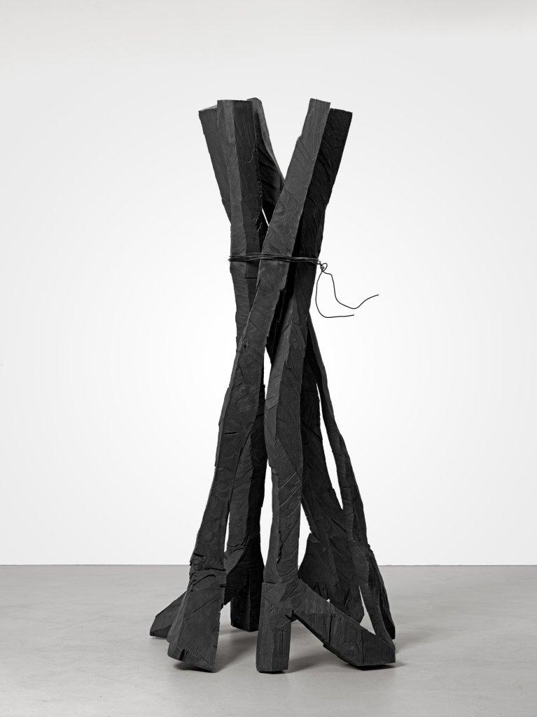 Zero Dom, (Cathedrale zero) Georg Baselitz, 2015 - Descente a la Galerie Thaddaeus Ropac de Pantin