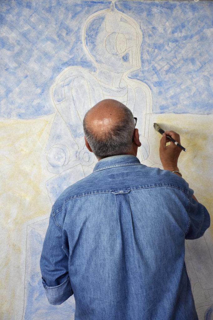 Stage Fresques Lombards - Entre les murs de Fresques au Mopo de Troyes