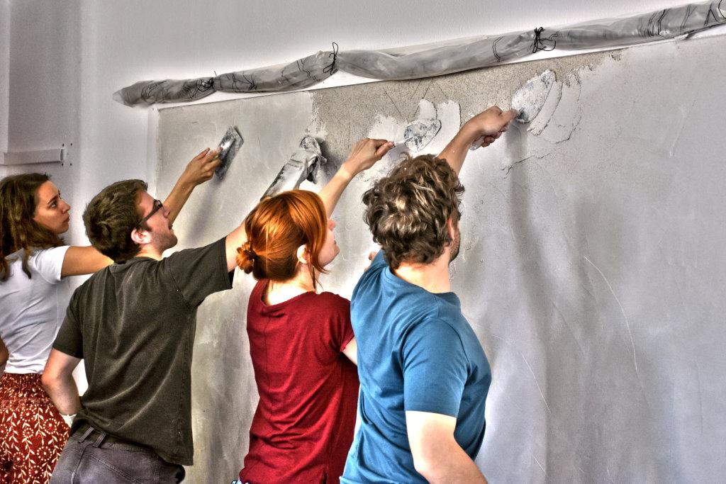 Visuel demonstration Fresque - Entre les murs de Fresques au Mopo de Troyes