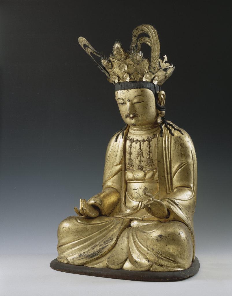 Bodhisattva à la tête couronnée